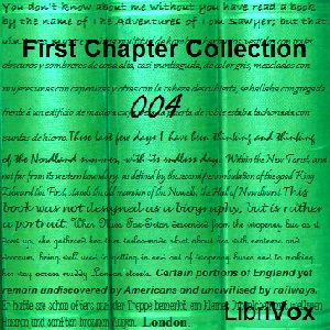 First Chapter Collection 004